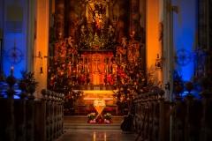 Wallfahrtskirche Witzighausen an Weihnachten
