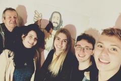 Selfie mit Jesus