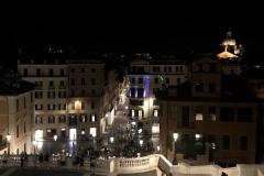 """Aussicht über Rom von der Kirche """"Trinita dei Monti"""""""