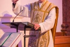 Johannes Prestele zelebrierte den Jugendgottesdienst